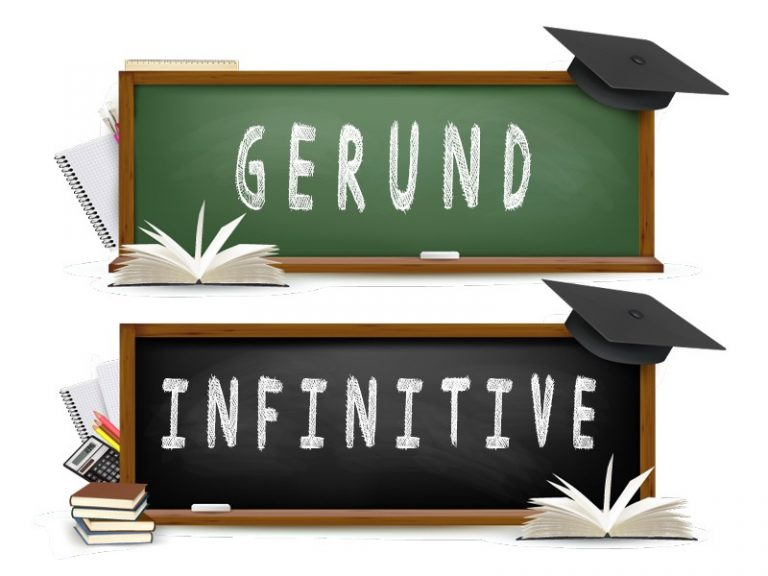 Gerund infinitive exercise