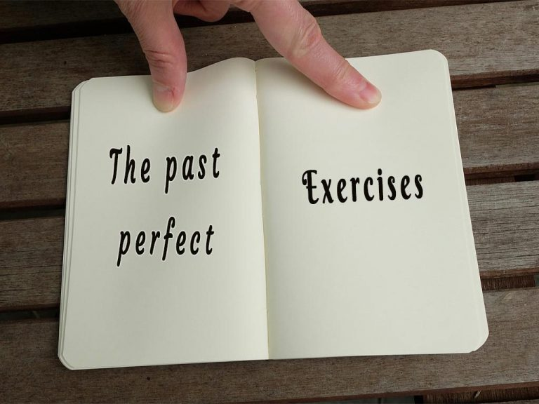 Past perfect exercise