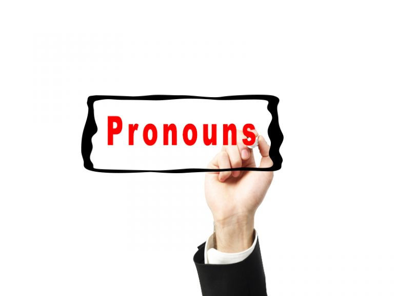 Pronouns : Personal, Object, Possessive