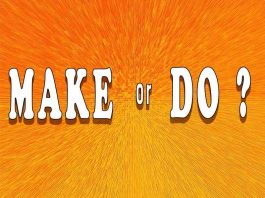 Make vs Do