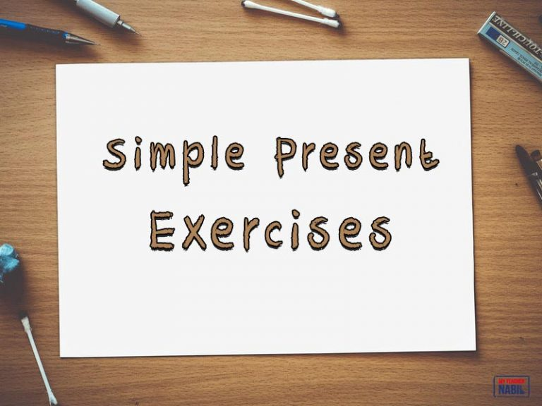 Simple present exercises