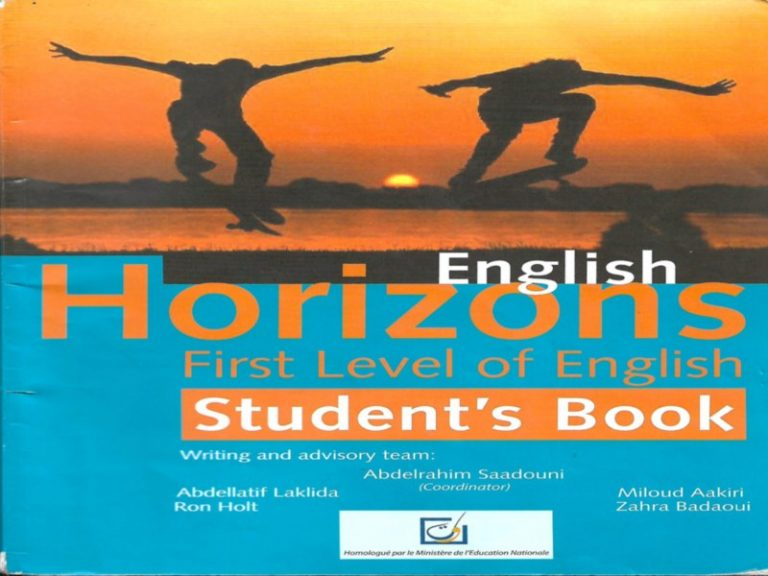 English Horizons Student's Book